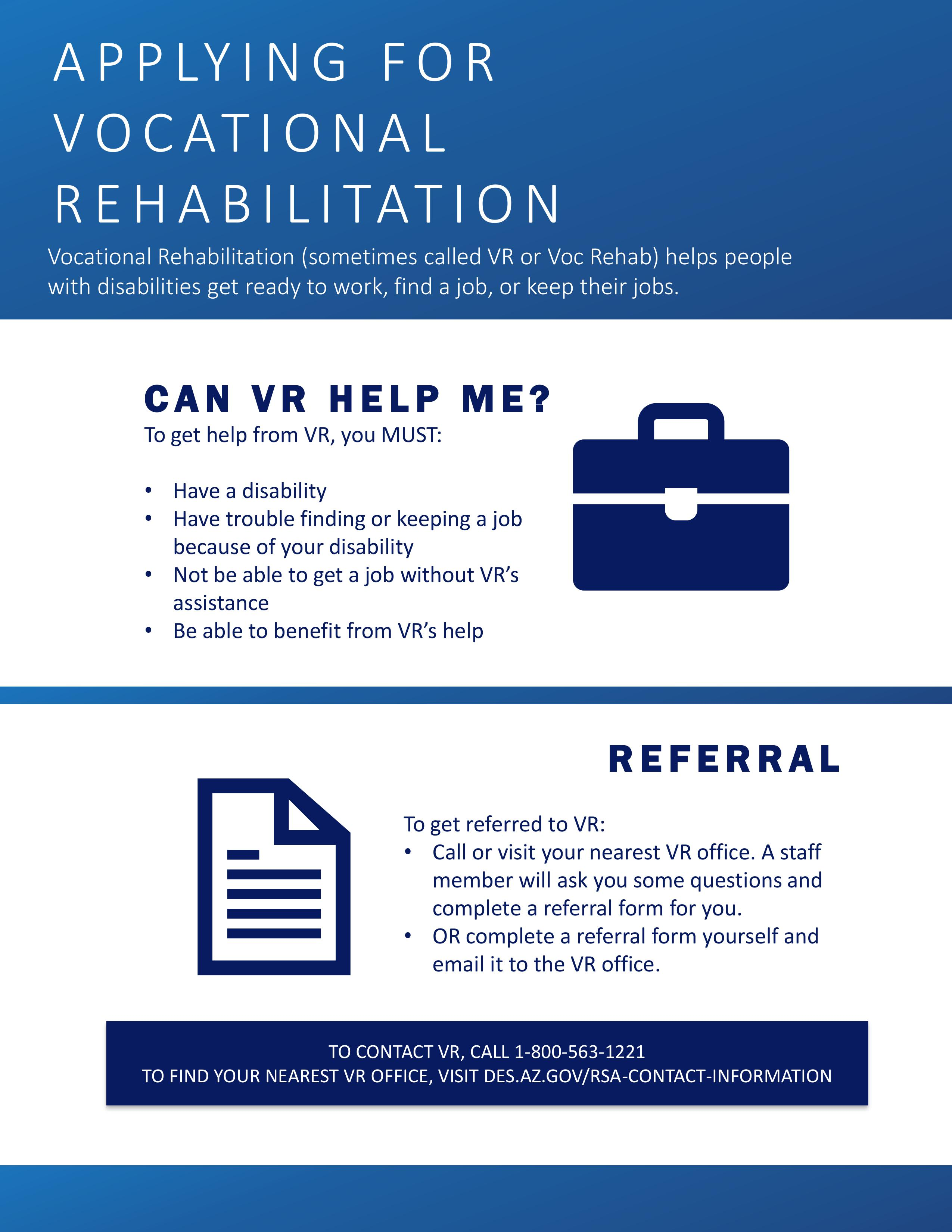 VR Eligibility and Referral Image