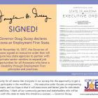 Image of Employment First Executive Order