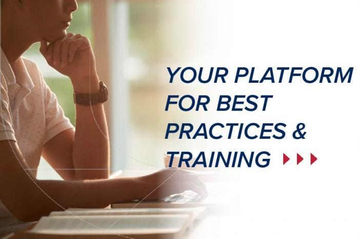 Your Platform for Best Practices & Training